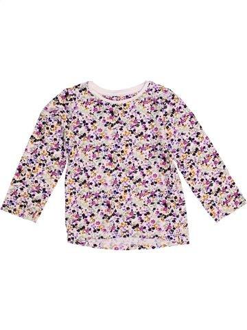 T-shirt manches longues fille NUTMEG violet 5 ans hiver #1371834_1
