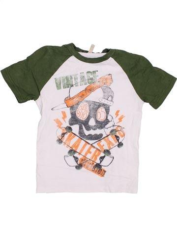 Camiseta de manga corta niño BENETTON verde 5 años verano #1372046_1