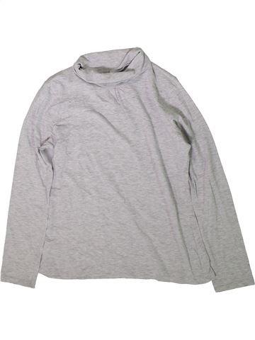 Camiseta de cuello alto niña LISA ROSE gris 12 años invierno #1372147_1