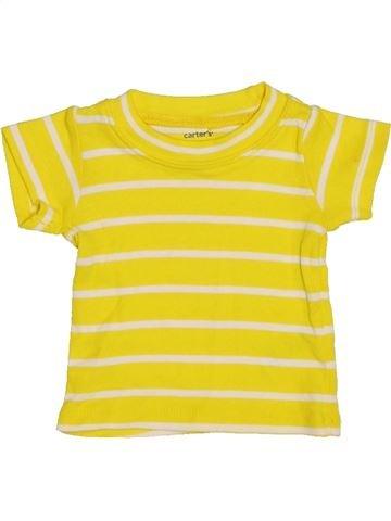 Camiseta de manga corta unisex CARTER'S amarillo 0 meses verano #1372319_1