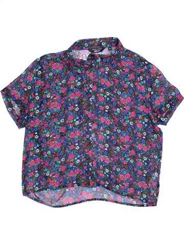 Blusa de manga corta niña NEW LOOK violeta 14 años verano #1372367_1