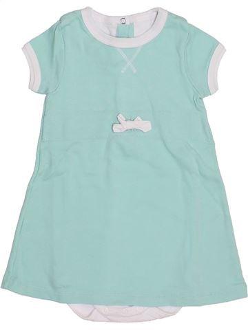 Robe fille PETIT BATEAU bleu 12 mois été #1372503_1