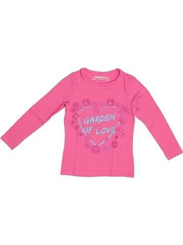 Camiseta de manga larga niña ORCHESTRA rosa 2 años invierno #1372627_1