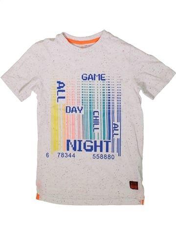 Camiseta de manga corta niño F&F blanco 8 años verano #1372633_1