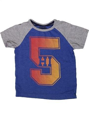 Camiseta de manga corta niño TU azul 3 años verano #1372635_1