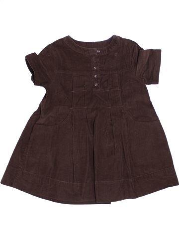 Vestido niña OKAIDI marrón 3 años invierno #1372848_1