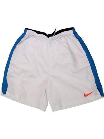 Pantalon corto deportivos niño NIKE blanco 12 años verano #1372983_1