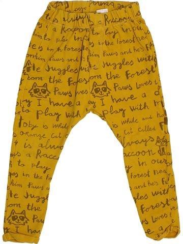 Pantalón niño ZARA amarillo 3 años invierno #1373135_1