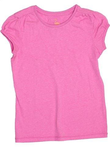 Camiseta de manga corta niña TU rosa 7 años verano #1373515_1