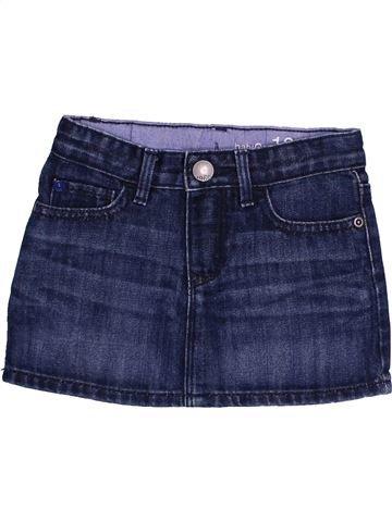 Falda niña GAP azul 2 años verano #1373603_1