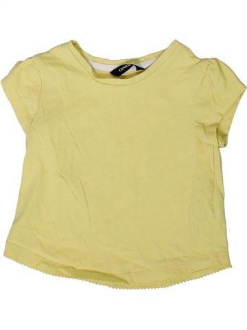 Camiseta de manga corta niña GEORGE beige 2 años verano #1373621_1