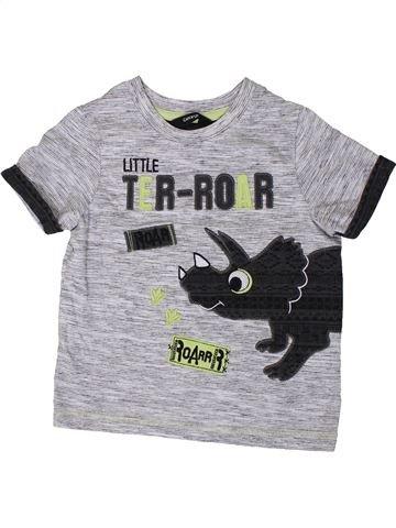 Camiseta de manga corta niño GEORGE gris 2 años verano #1373694_1