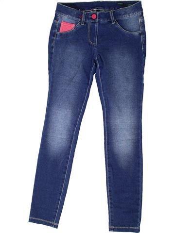 Pantalón niña BENETTON azul 11 años invierno #1373985_1