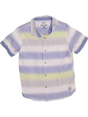 Camisa de manga corta niño F&F blanco 8 años verano #1374072_1