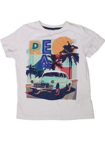 Camiseta de manga corta niño F&F blanco 8 años verano #1374088_1