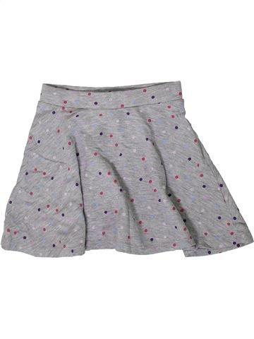 Falda niña H&M gris 6 años verano #1374143_1