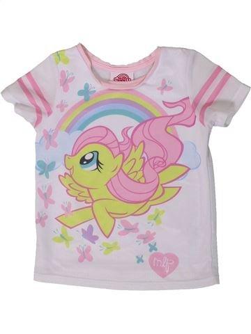 Camiseta de manga corta niña GEORGE rosa 5 años verano #1374285_1
