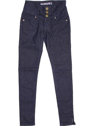 Pantalón niña NEW LOOK azul 10 años invierno #1374286_1