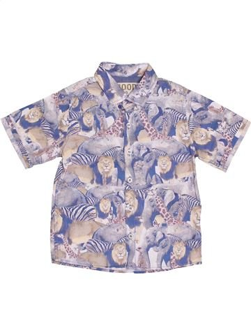 Camisa de manga corta niño NEXT gris 3 años verano #1374305_1