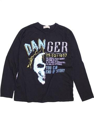 Camiseta de manga larga niño ZARA negro 12 años invierno #1374365_1