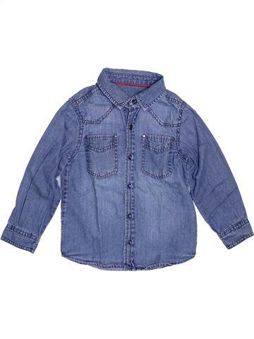 Camisa de manga larga niño DPAM azul 3 años invierno #1374443_1