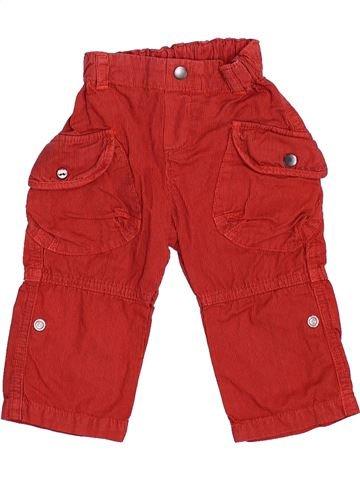 Pantalón niño BERLINGOT rojo 9 meses verano #1374486_1