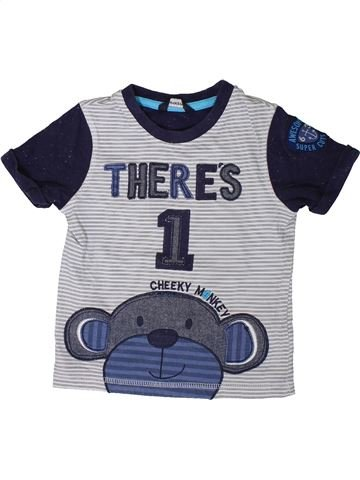 Camiseta de manga corta niño GEORGE gris 2 años verano #1374506_1