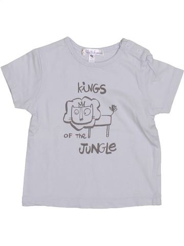 T-shirt manches courtes garçon KIABI blanc 3 mois été #1374514_1