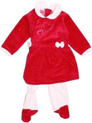 Pijama de 2 piezas niña TROIS KILOS SEPT blanco 9 meses invierno #1374726_1