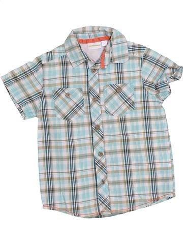 Camisa de manga corta niño VERTBAUDET gris 4 años verano #1374760_1