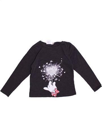 Camiseta de manga larga niña DISNEY negro 4 años invierno #1374777_1