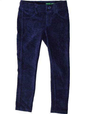 Pantalón niña BENETTON azul 5 años invierno #1374818_1