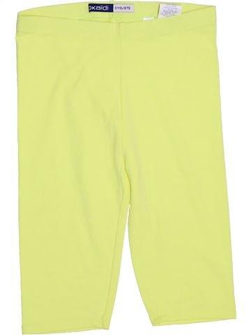 Legging niña OKAIDI amarillo 12 años verano #1374847_1