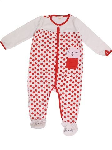Pijama de 1 pieza niña DPAM rosa 2 años invierno #1375384_1