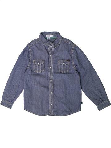 Camisa de manga larga niño OKAIDI azul 5 años invierno #1375389_1