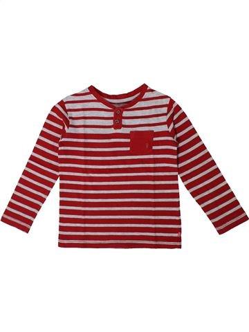 Camiseta de manga larga niño OKAIDI rosa 3 años invierno #1375489_1