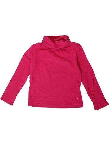 Camiseta de cuello alto niña OKAIDI rosa 3 años invierno #1375569_1
