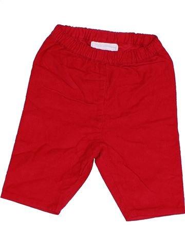 Pantalon garçon THE LITTLE WHITE COMPANY rouge 3 mois hiver #1375753_1