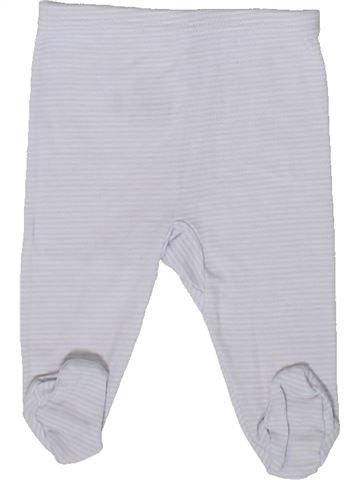 Pantalon garçon PETIT BATEAU blanc naissance été #1375884_1