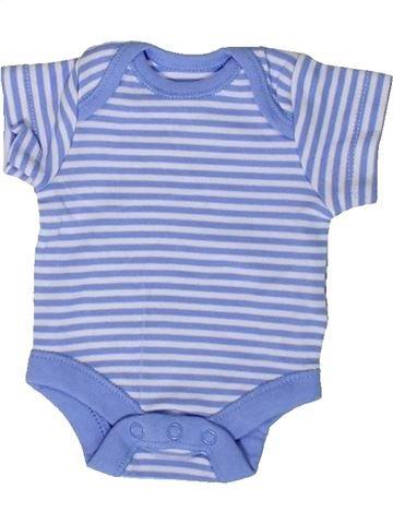 T-shirt manches courtes garçon F&F bleu prématuré été #1376992_1