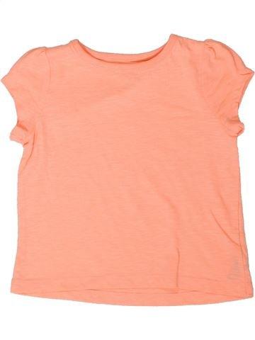 Camiseta de manga corta niña DUNNES STORES beige 4 años verano #1377005_1
