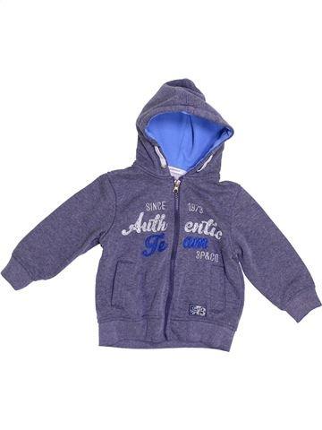 Sudadera niña 3 POMMES azul 3 años invierno #1377046_1