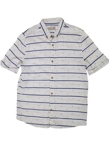 Chemise manches courtes garçon ZARA blanc 14 ans été #1377148_1