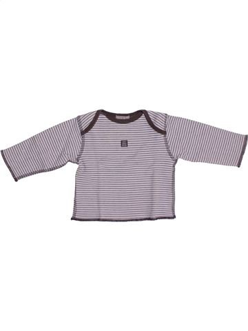 T-shirt manches longues garçon GENERATION Z violet 6 mois hiver #1377350_1