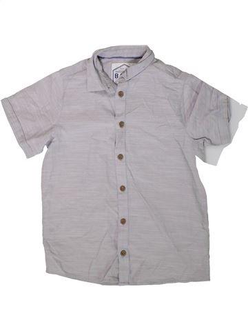 Chemise manches courtes garçon AWESOME APPAREL gris 9 ans été #1377378_1