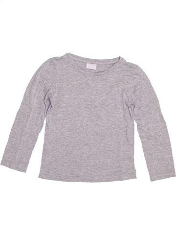 Camiseta de manga larga niño F&F gris 5 años invierno #1377588_1
