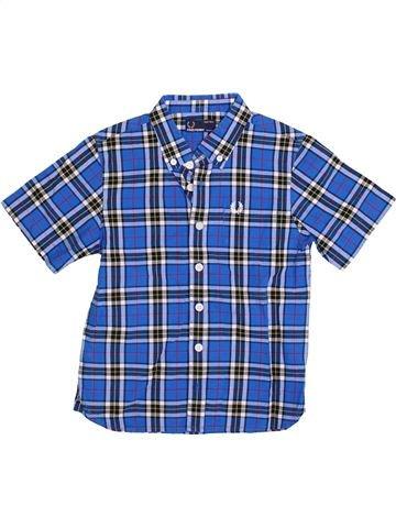 Chemise manches courtes garçon FRED PERRY bleu 6 ans été #1377609_1