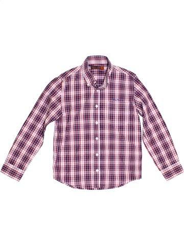 Chemise manches longues garçon BEN SHERMAN violet 8 ans hiver #1377993_1
