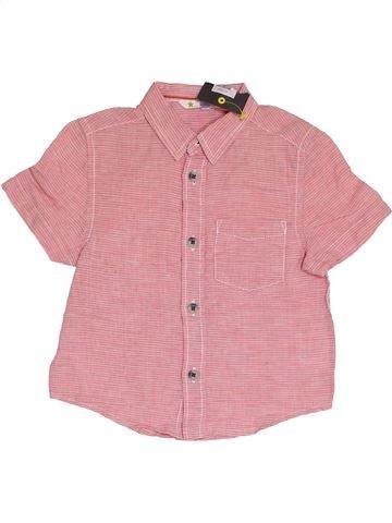 Camisa de manga corta niño JOHN LEWIS rosa 2 años verano #1378122_1