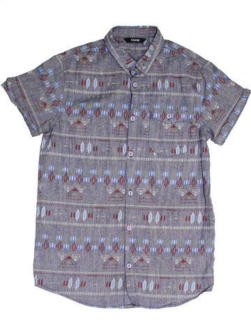 Camisa de manga corta niño GEORGE gris 13 años verano #1378178_1